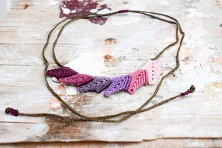 Collar artesanal exclusivo, diseño propio