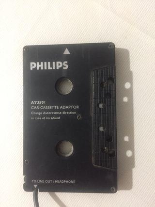 Adaptador cassette a jack