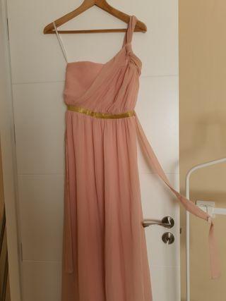 vestido estilo griego largo para boda