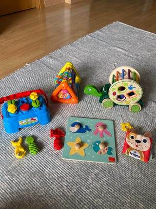 Paquete Juguetes para bebé hasta 1-2 años.