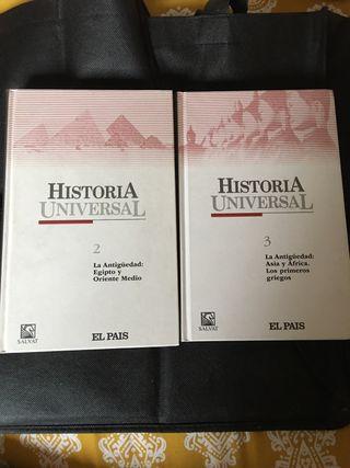 Historia Universal: La Antigüedad, fascículos 2,3