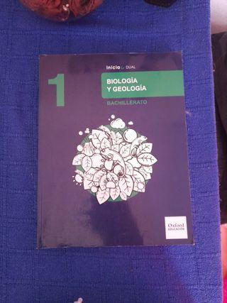 libro biologia 1 de bach Oxford Educacion