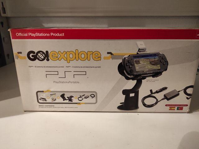 Go! Explore GPS para PSP, original