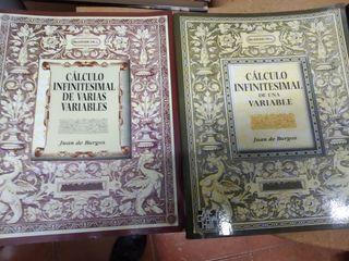 Calculo infinitesimal (2 libros)