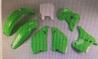 plasticos kawasaki kx 250 r 93 94 j