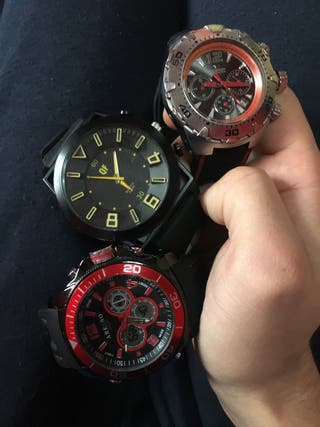 Lote 3 Relojes Hombre
