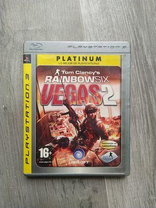 Rainbowsix Vegas 2 Edición platino PS3
