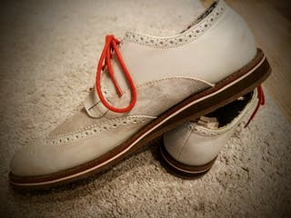 Nanny State Swing dance brogue shoes