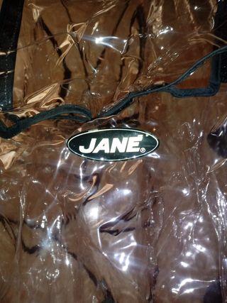 Plástico para carrito gemelar