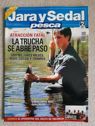 Revista Jara y Sedal Pesca N°11 Marzo 2004