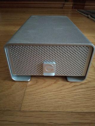 disco duro g-drive (g-technology) 6TB