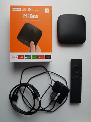 Android TV Xiaomi Mi Box 4K Ultra HD