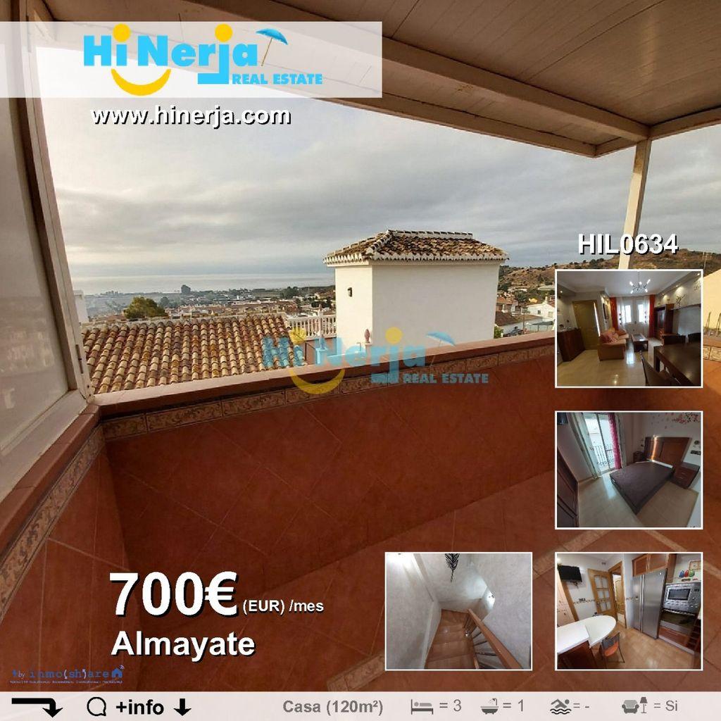 CASA DE PUEBLO 3 DORMITORIOS VISTAS AL MAR EXCELENTES CALIDADADES - ALMAYATE (VÉLEZ - MÁLAGA) (Almayate, Málaga)