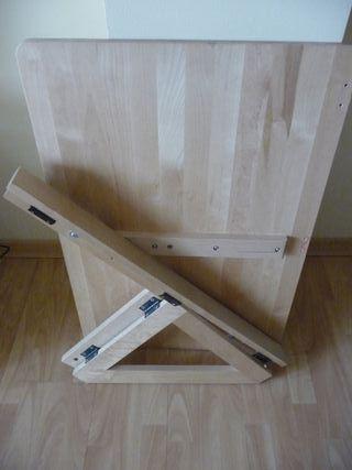 Mesa abatible madera de pino