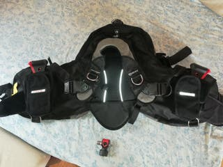 Chaleco Buceo Mares Morphos Twin Talla M