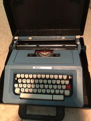 Maquina de escribir marca OLIVETTI STUDIO 46