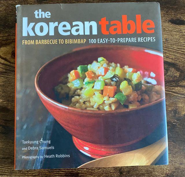Recetas cocina coreana The Korean Table