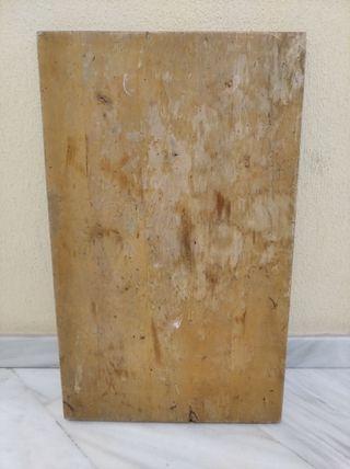Tablero antiguo macizo para mesa vintage