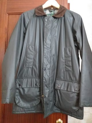 Parka tipo Barbour