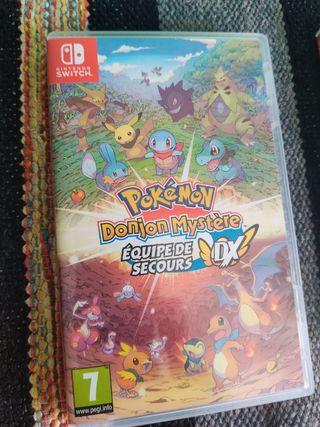 Pokemon Mundo Misterioso Juego Nintendo Switch