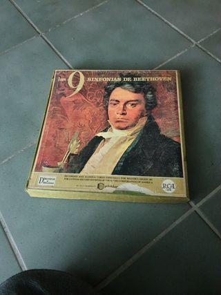 9 sinfonías de Beethoven