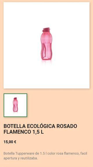 botella eco tuperware 1.5l