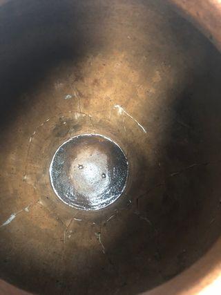 Preciosa tinaja antigua