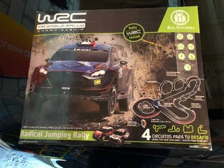 Scalextric wrc radical jumping rally