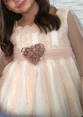 Comunión , vestido Mon Air talla 9 .. precioso