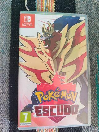 Pokemon Escudo Nintendo Switch Juego