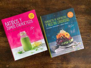 Libros batidos y recetas veganas