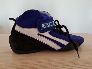 Botines SPARCO T40 Azules