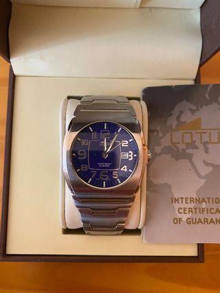 Reloj Lotus Acero Azul