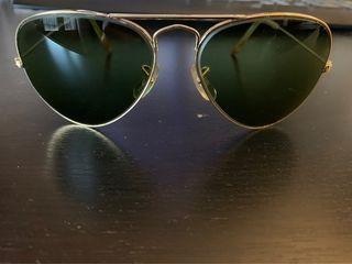 Gafas Ray Ban Aviator originales años 70