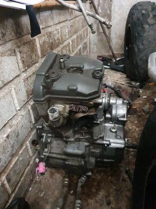 motor suzuki drz