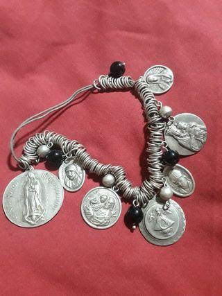 antigua pulsera de plata 925