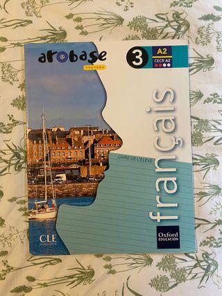 Libro de francés arobase 3eso