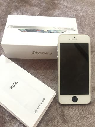 IPhone 5, White, 16GB (completo)