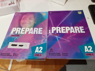 Libros Inglés prepare Level 2 A2