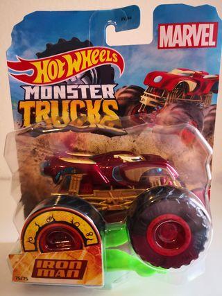 Hot Wheels Monster Trucks Marvel Iron Man.