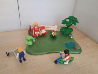 Parque con niños Playmobil