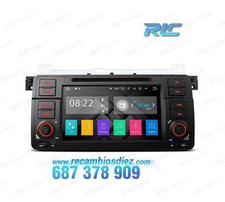 "RADIO GPS ANDROID 8.1 7"" BMW E46 USB GPS TACTIL HD"