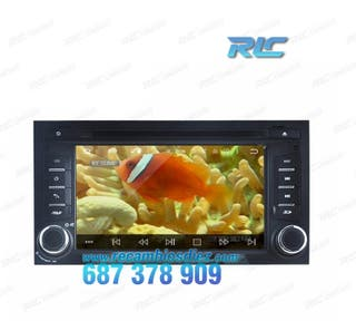 RADIO NAVEGADOR GPS DVD ANDROID 7,1 FIAT DUCATO