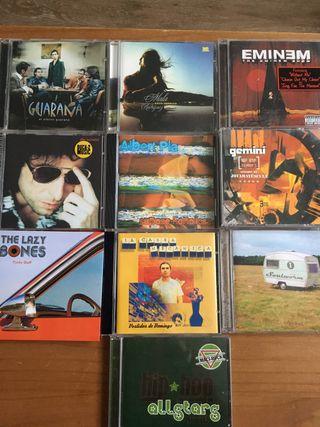 Cd rock y hip hop...