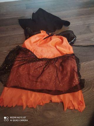 Disfraz Halloween bebé bruja