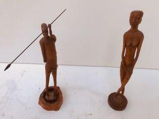 Figuras africanas antiguas.