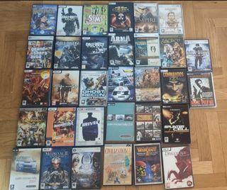 Lote juegos PC