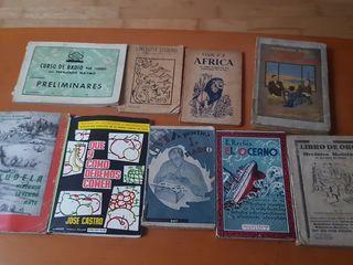 libro antiguo lote