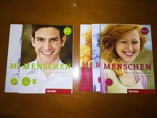 Libros Alemán Menschen A1.1 y A1.2