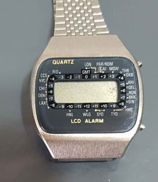 960-Reloj digital, Vintage. NOS C1980